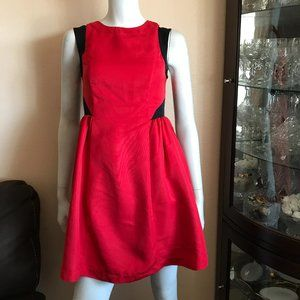 Prabal Gurung for Target Red Black A-line Dress